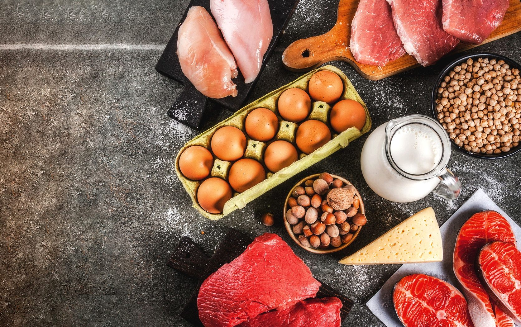 hoeveel eiwitten per maaltijd